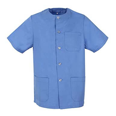 af82a0ef3b MISEMIYA - Camisas Caballero Cuello Redondo MÉDICO ENFERMERO Uniformes  Medicos Uniformes Sanitarios Uniformes Laboratorios Ref.832  Amazon.es  Ropa  y ...