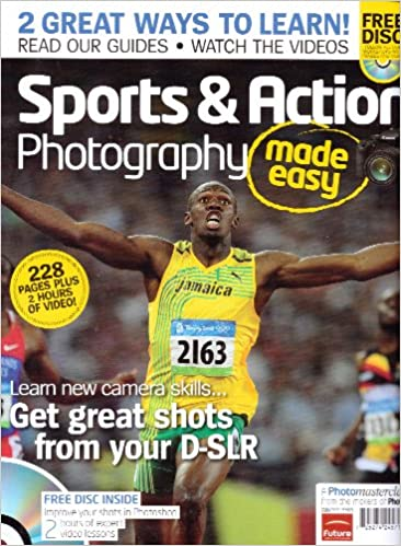 Amazon.com: Sports & Action Photography Made Easy Magazine ...