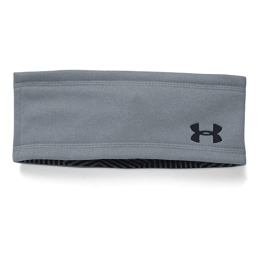 Amazon.com  Under Armour Men s UA Elements Band Steel Black Hat One Size   Sports   Outdoors 12a495d74868