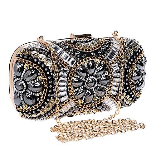 Dress Bag For Simplicity Banquet matrimoni feste shopping Wedding fare a Elegant Adatto Crossbody nero Women Clutch Women Zhiwenshangmao Cosmetic vwzBtq58w