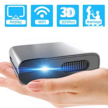 Mini Proyector portátil HD, Mini proyector de Bolsillo ...