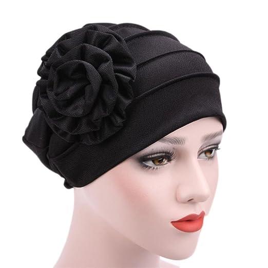 Fabal Women s Muslim Stretch Turban Hat Chemo Cap Hair Loss Head Scarf Wrap  Hijib Cap ( b612d8d79f4f