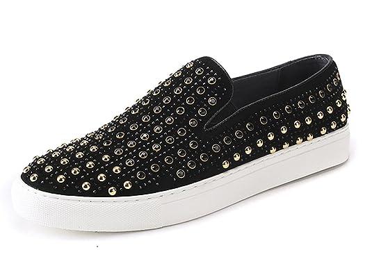 Dilize - Zapatos de cordones para hombre, color negro, talla 44 EU