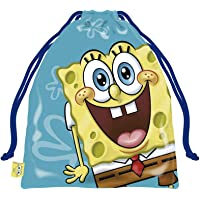 ARDITEX SB13207 Bolsa Merienda 26.5X21.5cm de Nickelodeon-Bob Esponja