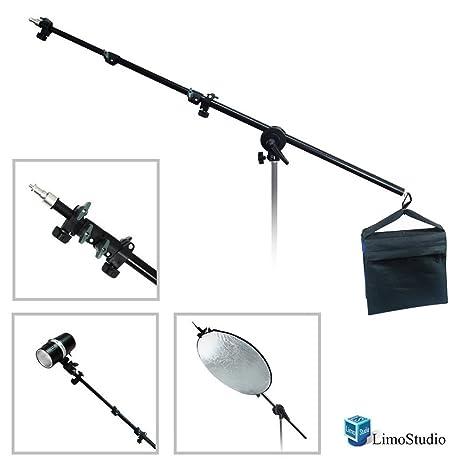 LimoStudio 2-way Mounting Lighting Boom Arm with Sandbag for Photography Video Studio AGG1835  sc 1 st  Amazon.com & Amazon.com : LimoStudio 2-way Mounting Lighting Boom Arm with ...