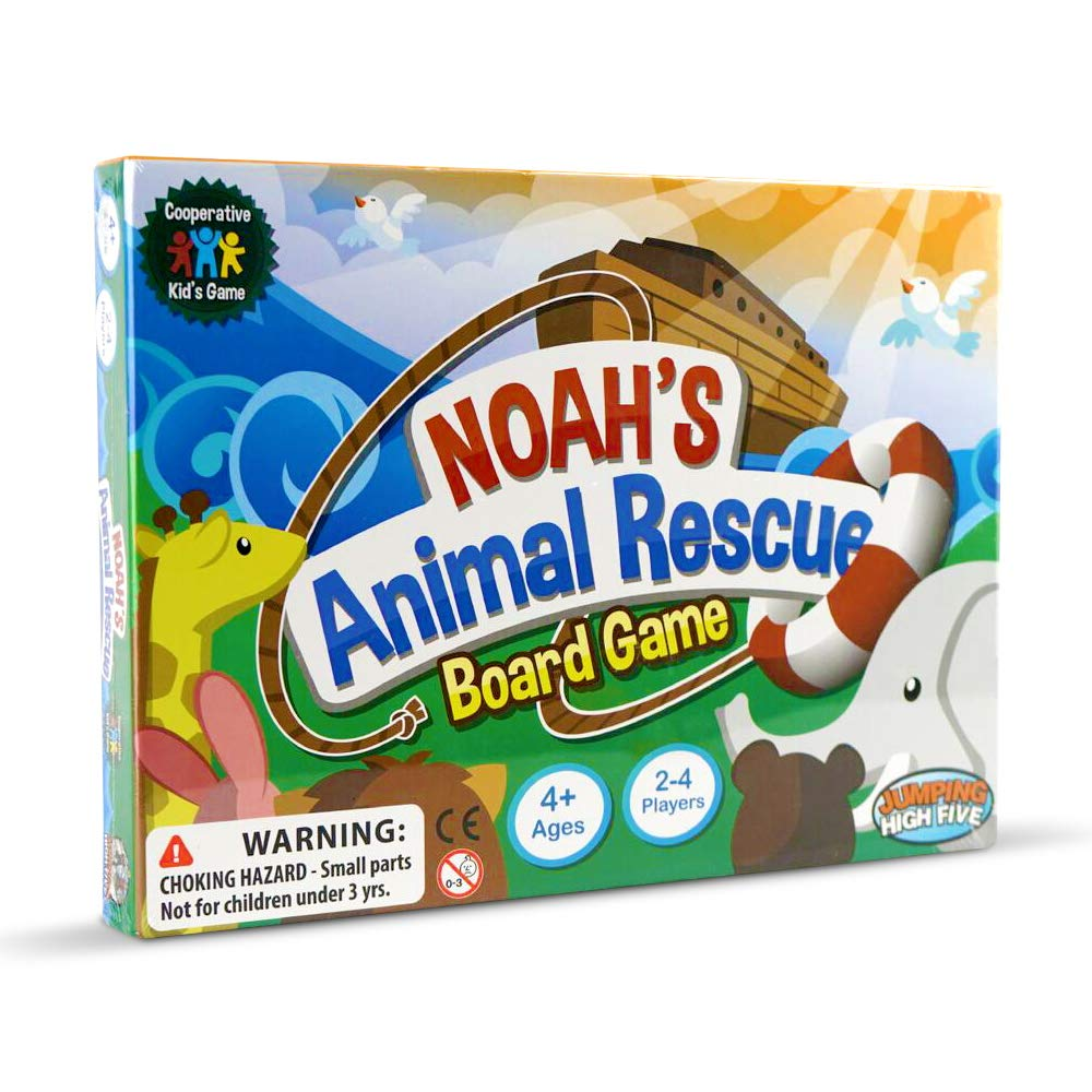 Noah's Animal Rescue! Kids Board Games Ages 4 8 - Learning & Cooperative Games for Kids Ages 4 And Up Teach Children New Skills While Having Fun - Hot Toys for Christmas 2018