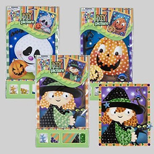 Do it Yourself Cute Halloween Picture with Gems and (Cute Kid Halloween Pictures)