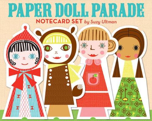 Read Online Paper Doll Parade Notecard Set PDF
