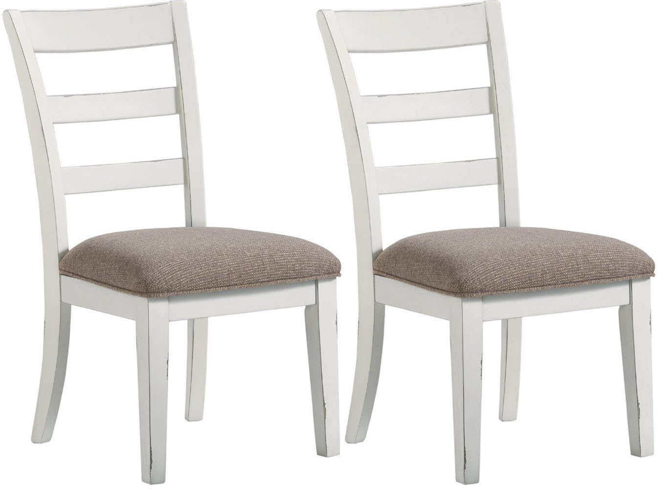 Signature Design by Ashley D754-01 Grindleburg Dining Chair, Antique White Ashley Furniture
