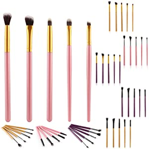 HUBEE 5pcs/Set Makeup Eye Brushes Cosmetic Eyeshadow Brush Eye Brow Tools
