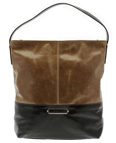 Capoverso Elegant Smooth Italian Leather Shoulder Handbag  3e1aa56ac093d