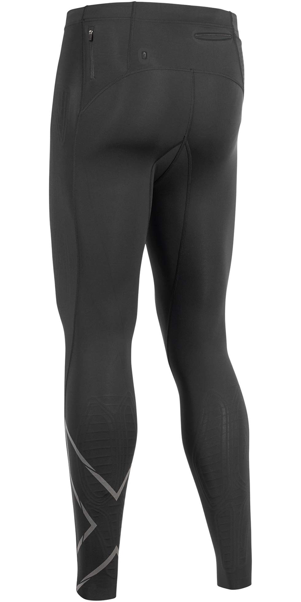 2XU MCS Run Compression Tight, Black/Black Reflective, Medium by 2XU (Image #2)