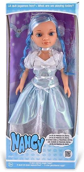 Amazon.es: Nancy - Princesa De Cristal, Muñeca con Vestido de Princesa y Corona para Niños y Niñas a Partir de 3 Años, Multicolor, (Famosa 700013514): Juguetes y juegos