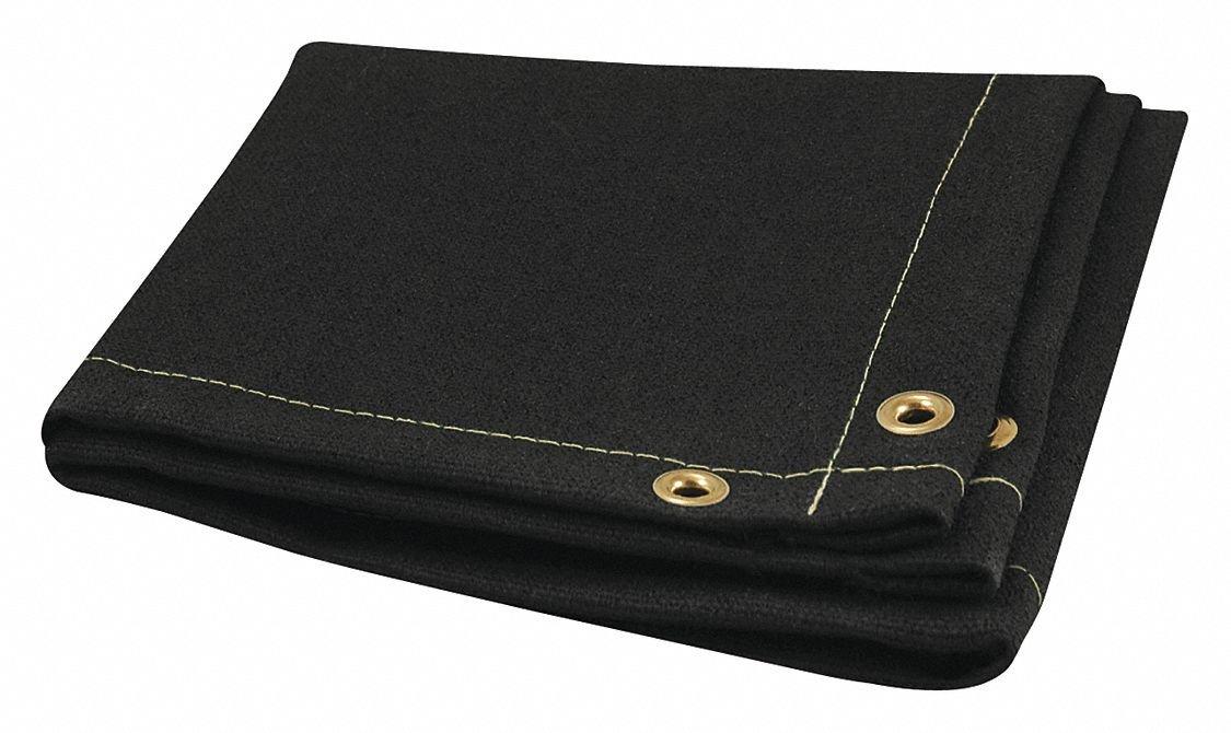 H W x 4 ft Black Steiner Welding Blanket 3 ft