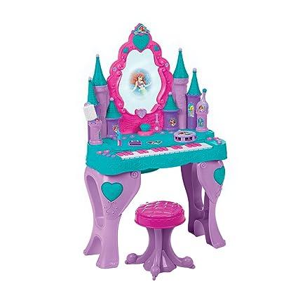 Amazon disney princess ariel keyboard and vanity toys games disney princess ariel keyboard and vanity watchthetrailerfo