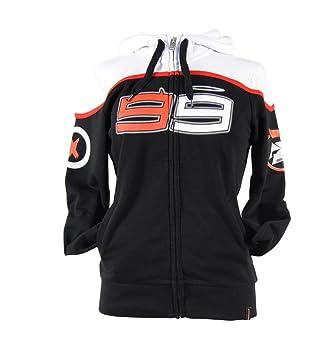 Jorge Lorenzo 99 X-Fuera MotoGP Zip Mujeres Sudadera Oficial Nueva: Amazon.es: Deportes y aire libre