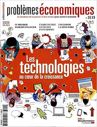 Livre gratuits Problèmes économiques n°3115 : Les technologies au coeur de la croissance pdf ebook