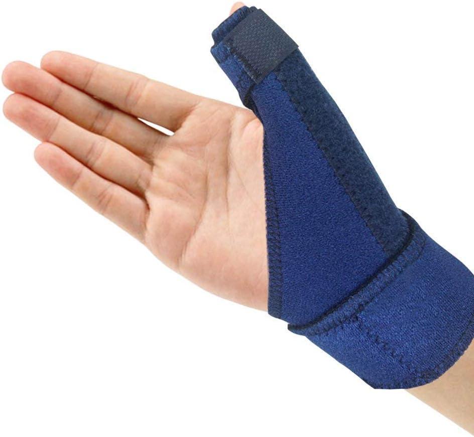 Férula del Pulgar, Muñequera de Neopreno ,Ajustable Pulgar Férula para Dolor, Sprained, Artritis, Tendonitis- Mejor Disparador Inmovilizador de Pulgar para el Pulgar Restricción, Apoyo para el Pulgar