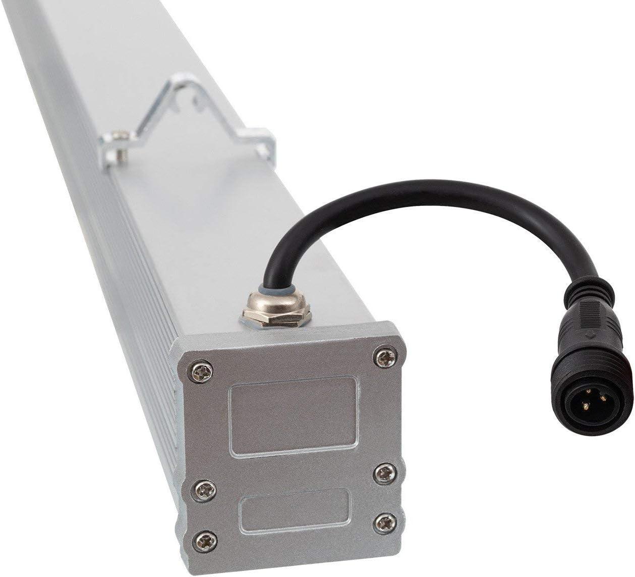 LEDKIA LIGHTING LED Lineal Wandfluter 1000mm 36W IP65 High Efficiency Warmes Weiß 2800K - 3200K Kaltes Weiß 5700k - 6200k