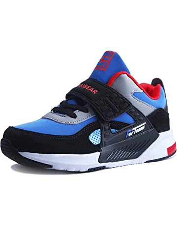 watch f2569 f765c Sneakers Enfant Baskets Montantes Garcon Chaussure de Course Mode Garcon  Fille Sport Running Shoes Competition Entrainement