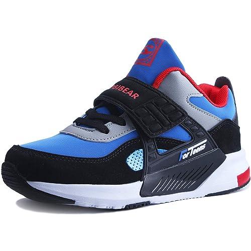 nouveau sommet meilleur endroit économies fantastiques Sneakers Enfant Baskets Montantes Garcon Chaussure de Course Mode Garcon  Fille Sport Running Shoes Competition Entrainement