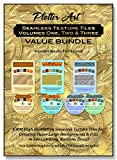 Plotter ArtTM Seamless Texture Tiles Volume One, Two and Three Value Bundle, 1,800 High Resolution Images on 4 DVD-ROMs with PDF User Guides & Image Galleries - Standard Royalty Free License