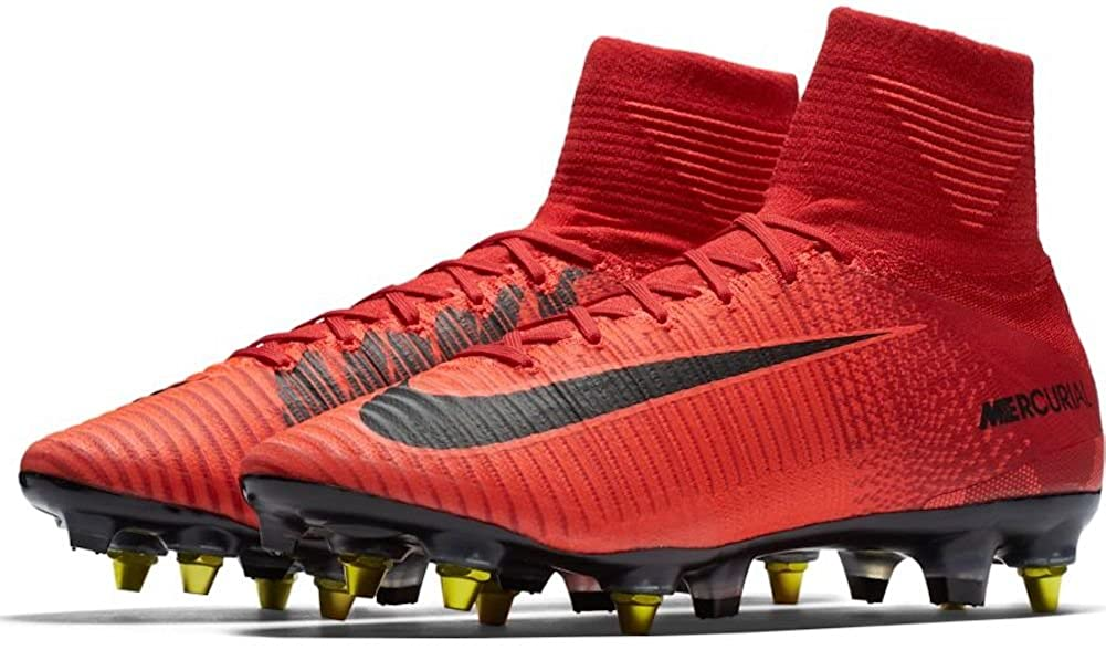 sale retailer c0f64 f078f Amazon.com  NIKE Mercurial Superfly V DF SG-PRO AC University RED SZ 9.5   889286-616   Soccer