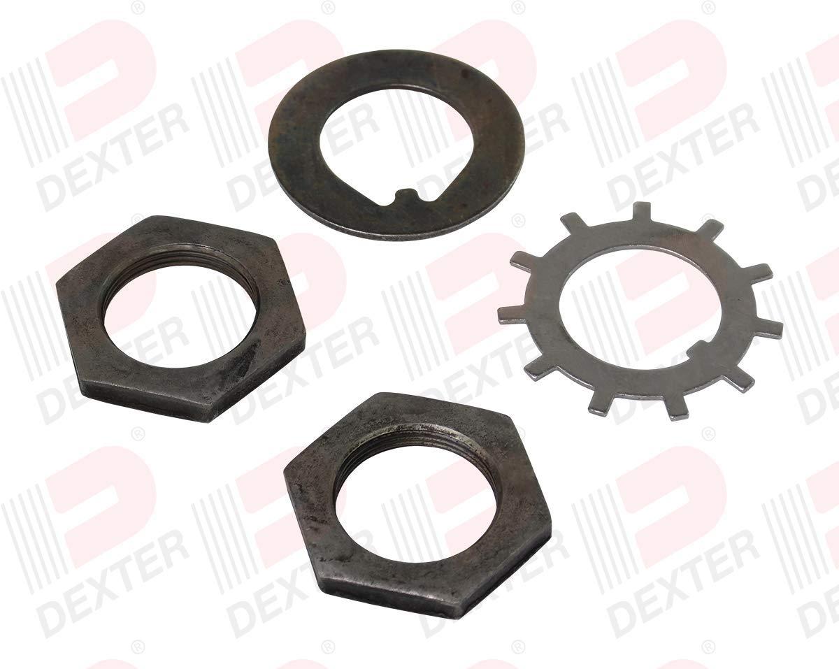 Dexter Axle Spindle Nut Kit for 10K Heavy Duty, 12K, 15K Axle (K71-341-00)