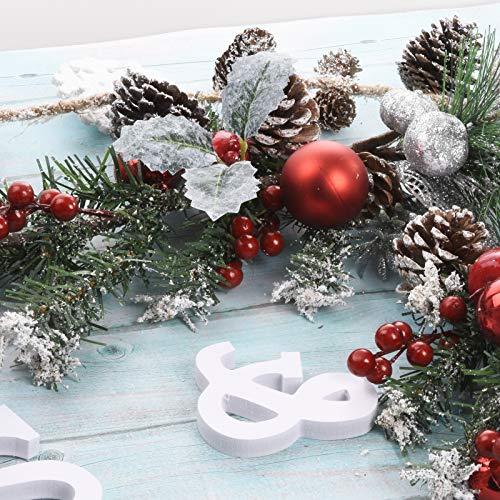 Christmas Flower Arrangements Artificial.Tingor 2 Pack Red Berry Stems Artificial Pine Picks For Christmas Tree Decorations Christmas Flower Arrangements Wreaths Garlandsand Holiday Decor