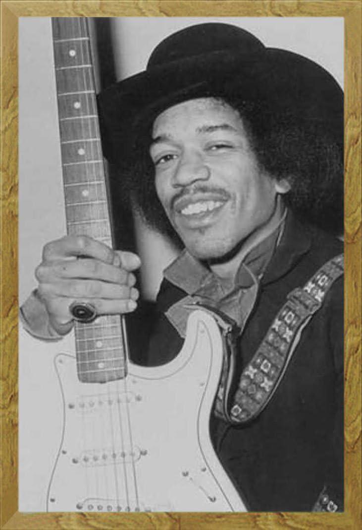91 x 61 cm 1art1 32087 Jimi Hendrix Psychedelic Poster