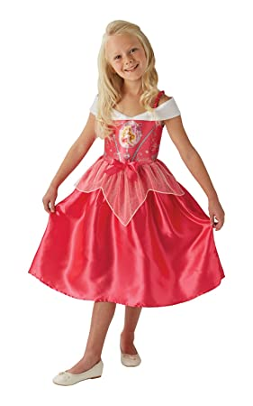 Rubieu0027s Official Disney Princess Sleeping Beauty Aurora Childs Costume Toddler 2-3 years  sc 1 st  Amazon UK : toddler aurora costume  - Germanpascual.Com