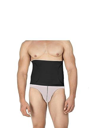 b71bc3871b Body Brace Men s Black Tummy Shapewear Toner brief  Amazon.in ...