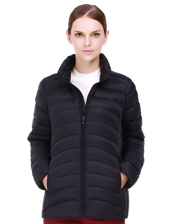 9a41a0b0b787 Amazon.com  puredown Womens Ultra Light Weight Packable Puffer Down Jacket   Clothing