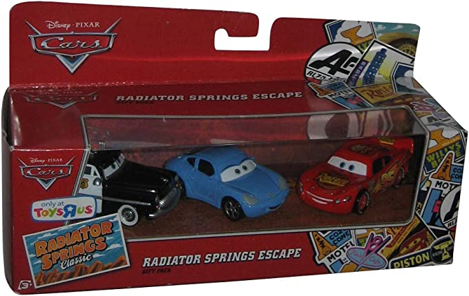 Mattel Cars - Pack Cars 3 Coches - Radiator Spring Escape: Amazon ...