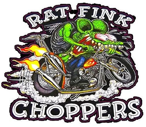 Rat Fink Chopper Decal 6