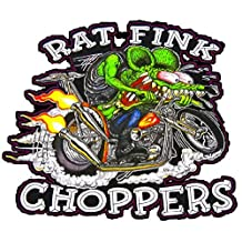 Rat Fink Chopper Decal 5""