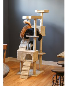 Kitty Mansions Redwood Cat Tree - Cat Trees at Hayneedle