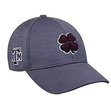 60e66345cdd5e8 Black Clover Texas A&M Dynamic Heather Fitted Hat at Amazon Men's ...