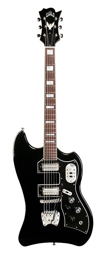 Hermandad S-200 T-Bird ráfaga de cuerpo sólido bolsa de guitarra eléctrica con