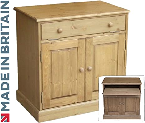 Escritorio de madera de pino, de gabinete, la mesa tradicional ...