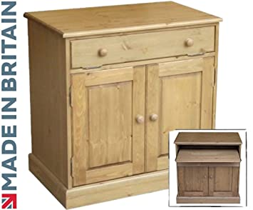 best service 2455c 846cc Solid Pine Desk, Computer Cabinet, Traditional Hidden Home Office Bureau,  Workstation, Hideaway. Choice of Colours. No flat packs, No assembly ...