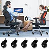 """Homdox 3"""" Office Chair Caster Rollerblade Style"""