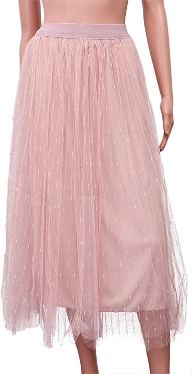 Vestido de Gasa de 1 Pieza Falda de Gasa Vestido de Falda de Tul ...