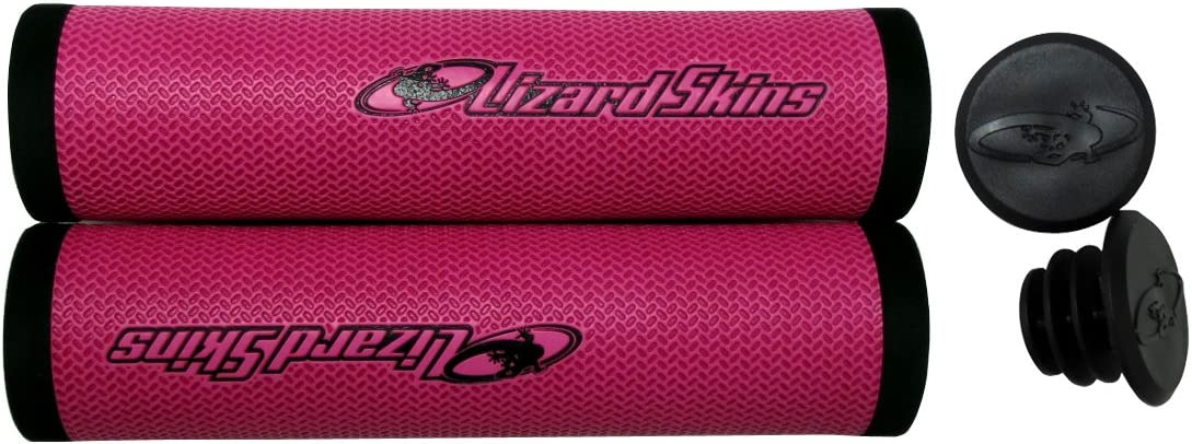Lizard Skins 32.3mm DSP Grips Red