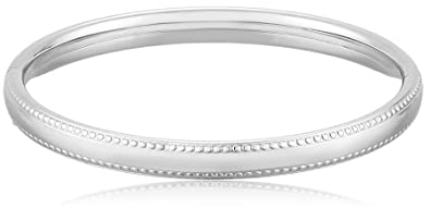 a sterling bracelet bangle with baby silver bracelets and closure hinged finish hinge polished bangles safety htm for bright inches