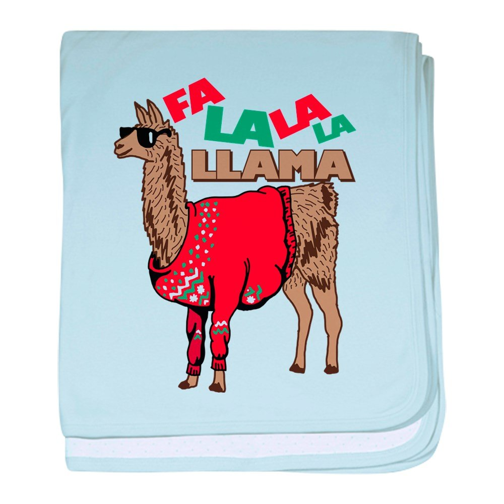 CafePress Fa La La Llama - Baby Blanket, Super Soft Newborn Swaddle