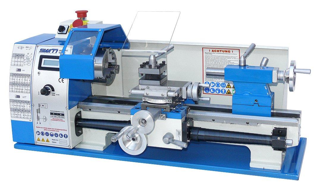 SWM Vario Leitspindel Tisch Drehmaschine Varioline TDM 400 SWM Maschinen