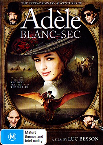 The Extraordinary Adventures of Adele Blanc-Sec | Luc Besson's | NON-USA Format | PAL | Region 4 Import - Australia (The Extraordinary Adventures Of Adele Blanc Sec 2010)