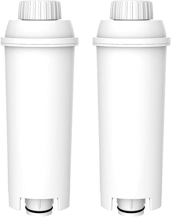 EC 860.M EC 820.B 2x Wasserfilter für DeLonghi EC 800 Series EC 850.M