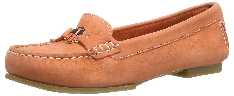 Tommy Hilfiger KELLY 9N FW56816848 - Mocasines de cuero para mujer, color rosa, talla 40: Amazon.es: Zapatos y complementos